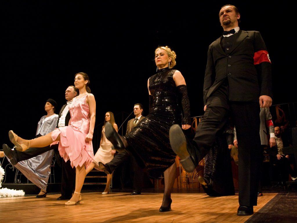 Tančírna, Moravské divadlo Olomouc, 2009