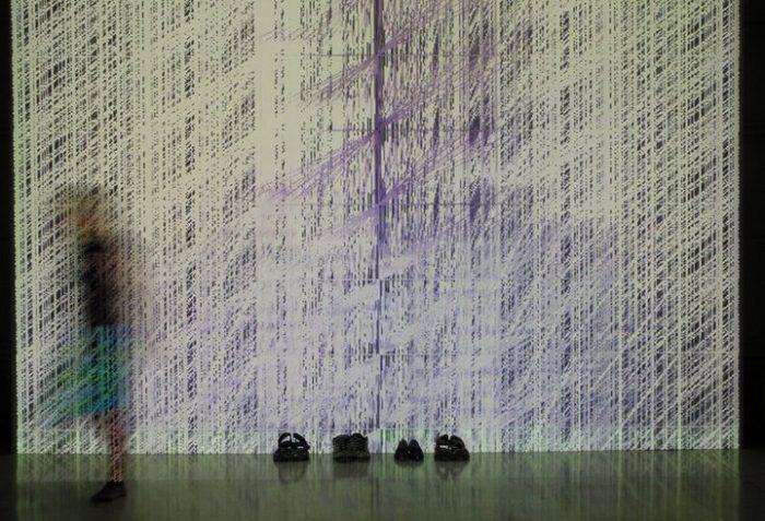Brněnská muzejní noc 2007, Muteme, živá instalace, Tomáš Hrůza